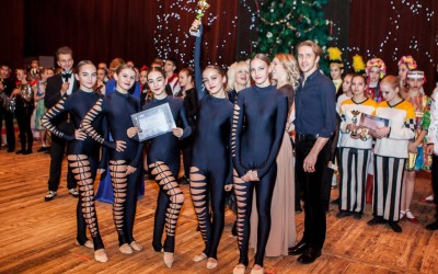 Юные танцоры из Евпатории стали лучшими на конкурсе «Рождественнские звезды»